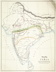 Sketch Map of India